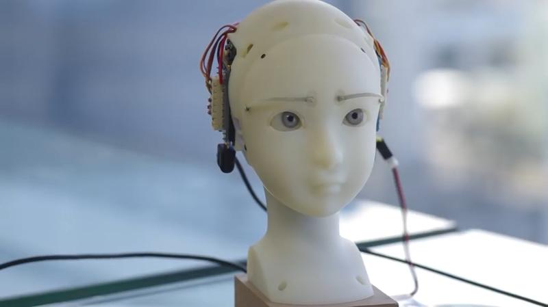 SEER: робот, умеющий копировать мимику человека