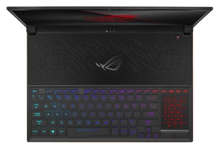 Игровой ноутбук ASUS ROG Zephyrus S имеет толщину менее 16 мм