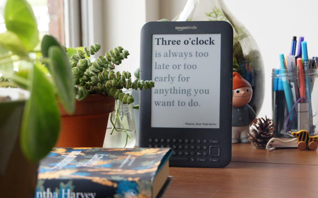 Делаем литературные часы на основе электронной книги - 1