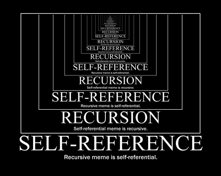 Мем про рекурсию