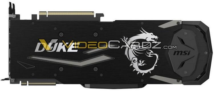 Опубликованы изображения видеокарт GeForce RTX 2080 и 2080 Ti от Palit и MSI