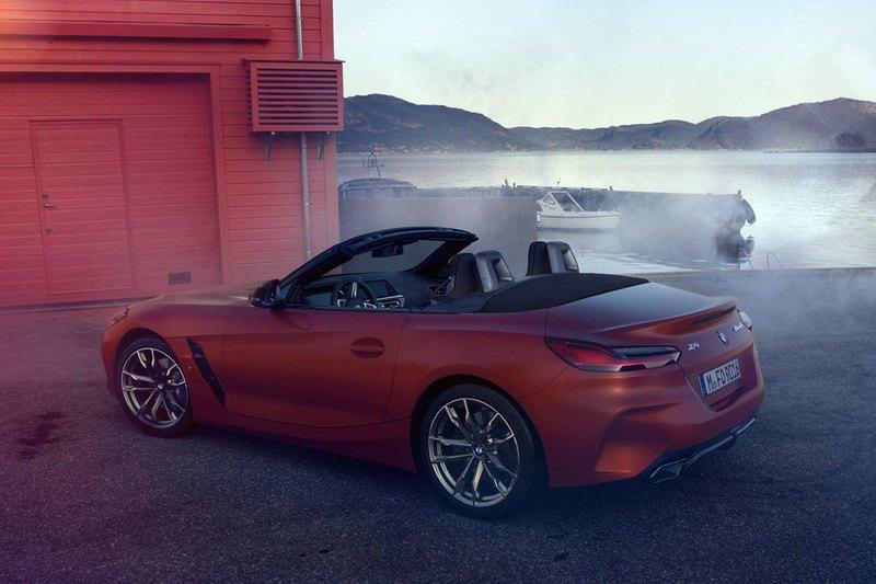 Внешность нового BMW Z4 рассекретили до премьеры