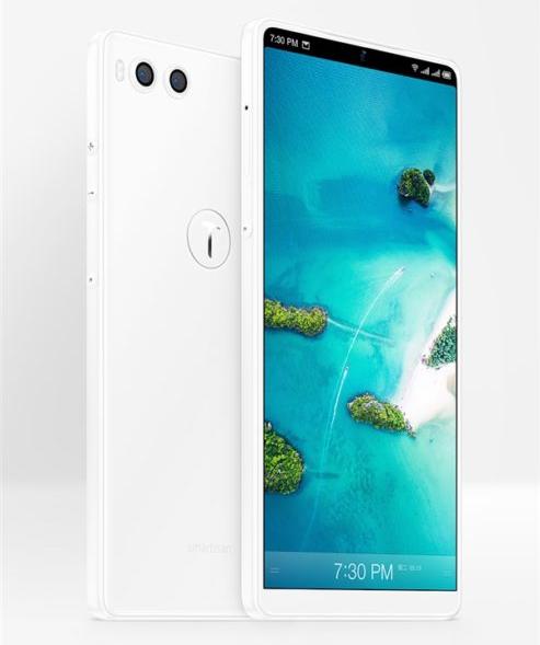 Смартфон Smartisan Nut R1 вышел в цвете Pure White с 8 ГБ ОЗУ и 512 ГБ флэш-памяти