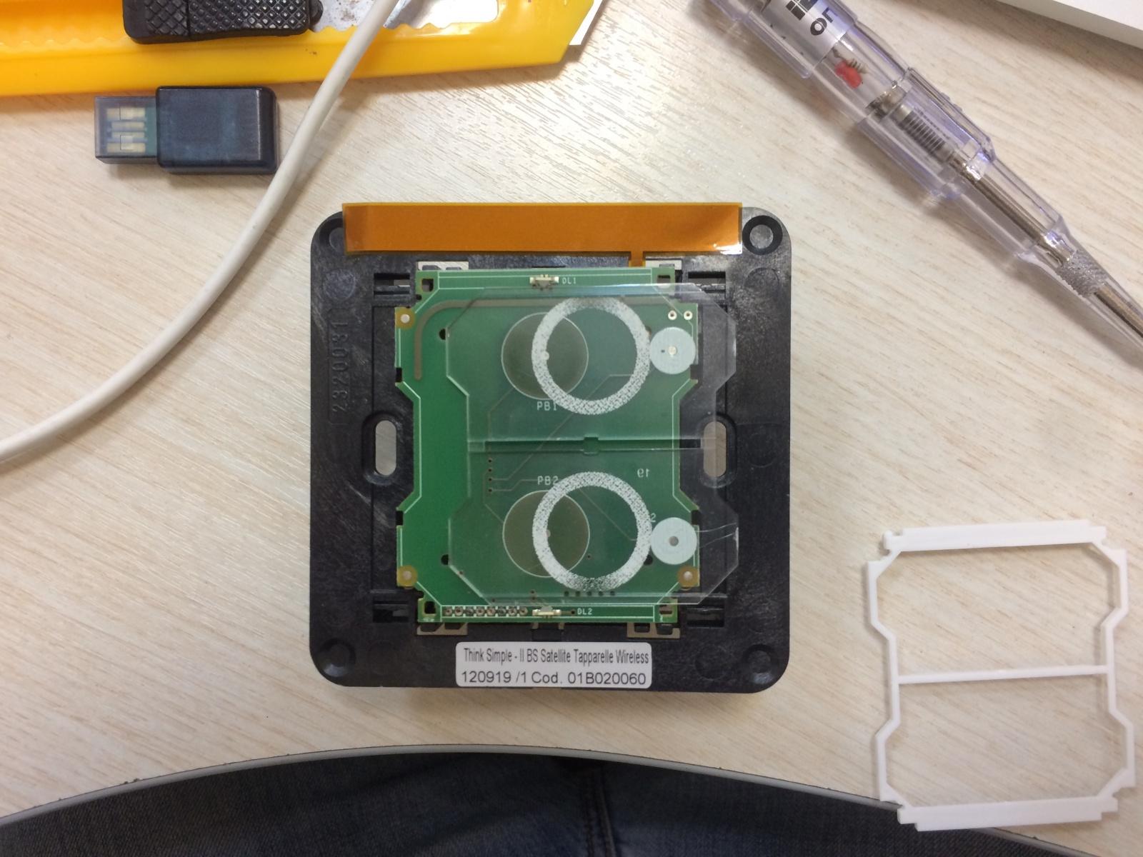 Разработка сенсорного Z-Wave выключателя на аккумуляторе со светящимися кнопками - 10