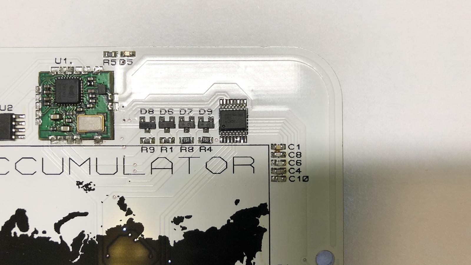 Разработка сенсорного Z-Wave выключателя на аккумуляторе со светящимися кнопками - 7