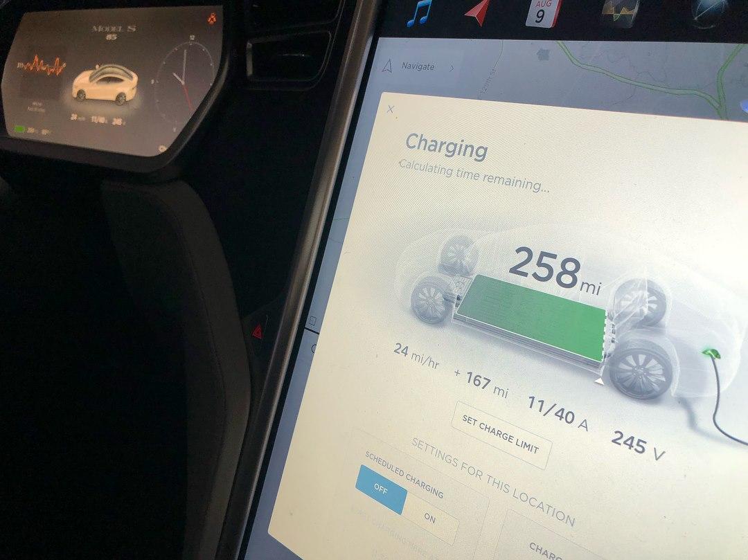 Статистика от владельца Tesla Model S - 4