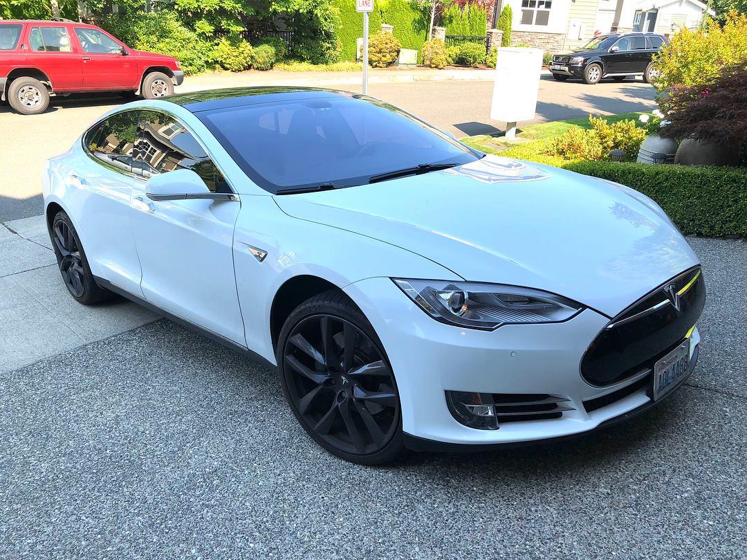 Статистика от владельца Tesla Model S - 1