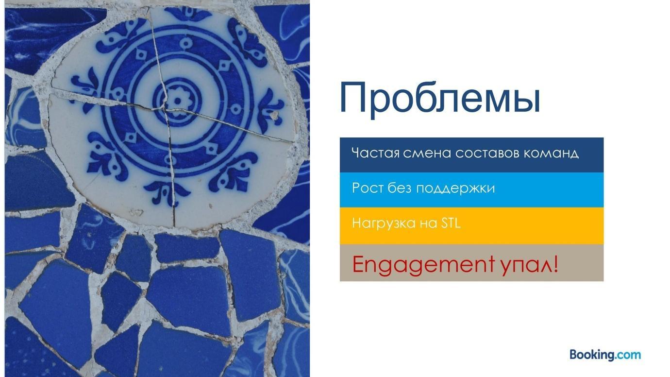Из закрытой касты в Servant Leadership: эволюция тимлида в Booking.com - 22