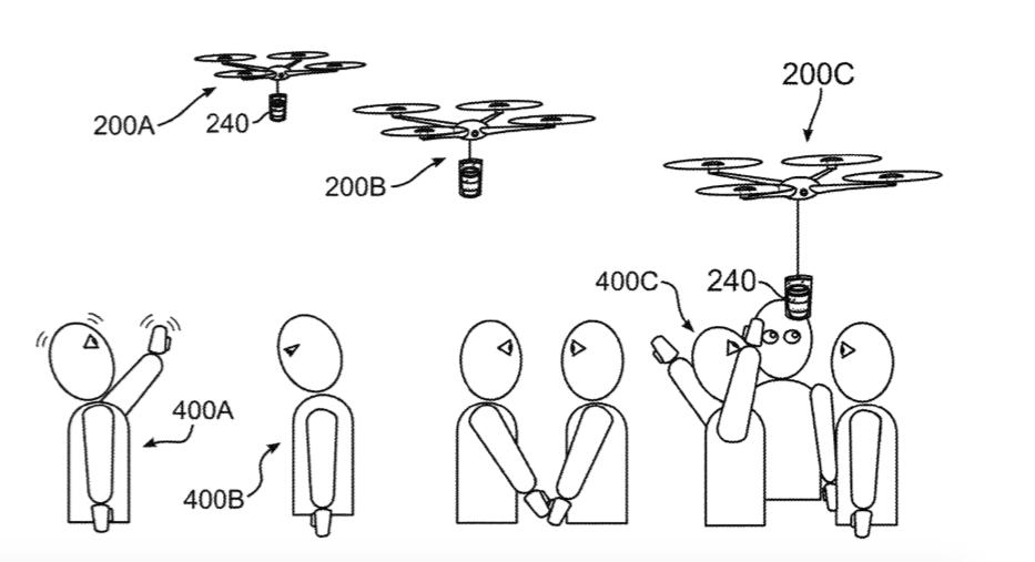 IBM патентует дронов, которые различают эмоции и несут людям кофе. А про что еще писать в пятницу? - 1