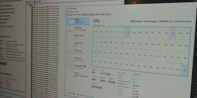 Монстры после каникул: AMD Threadripper 2990WX 32-Core и 2950X 16-Core - 2