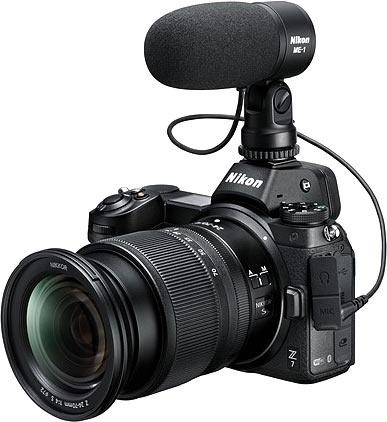 Nikon представила полнокадровую беззеркалку Z7 с 45,7-Мп матрицей