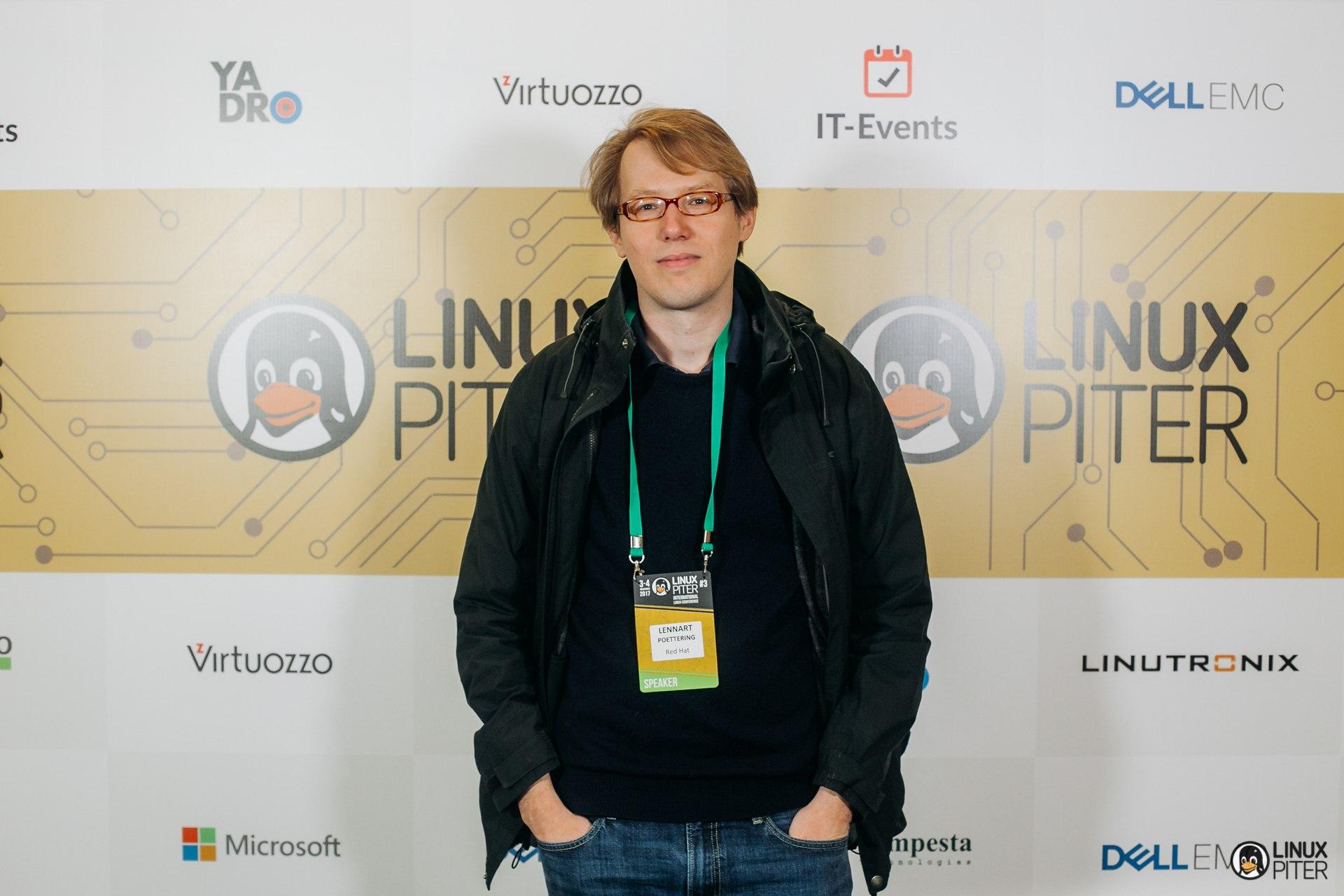 Интервью с Леннартом Поттерингом на Linux Piter об изменениях в Linux, про systemd и о том, зачем посещать конференции - 1