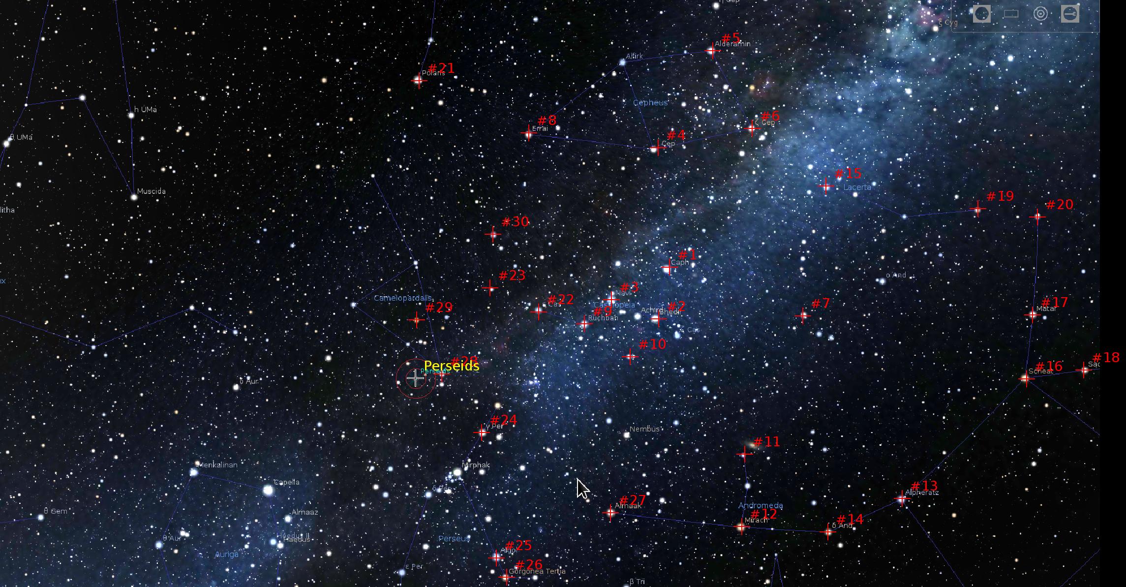 Ночная жизнь неба или в поисках Персеид — обработка - 4