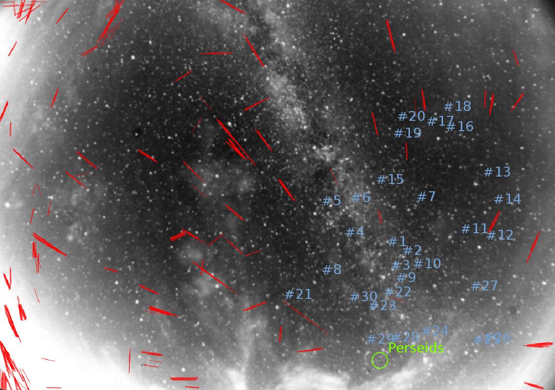 Ночная жизнь неба или в поисках Персеид — обработка - 5