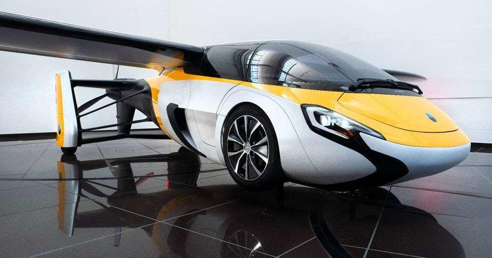 Японцы создадут летающий автомобиль