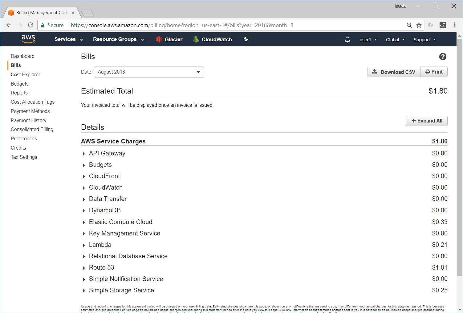 Размещение веб-приложения на Amazon Web Services. Дёшево. Возможно ли это? - 5
