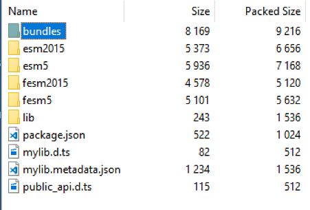 Тестируем создание библиотеки компонент для Angular с помощью новой команды для Angular-Cli — library - 4