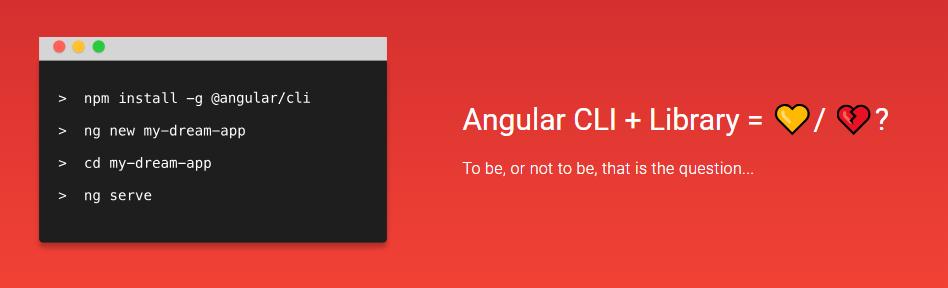 Тестируем создание библиотеки компонент для Angular с помощью новой команды для Angular-Cli — library - 1