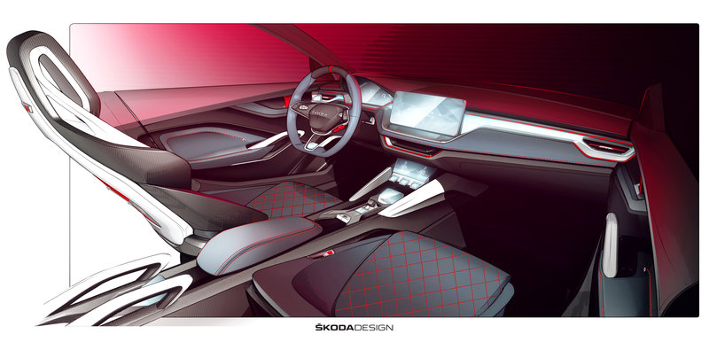 Skoda намекнула, какими будут интерьеры новых моделей - 3