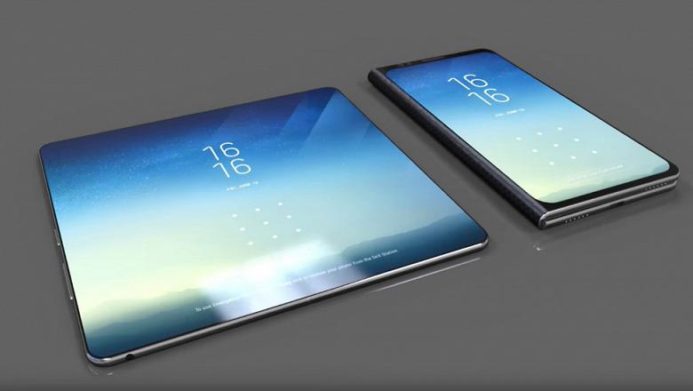 Первый смартфон Samsung со сгибающимся дисплеем получит дополнительный экран снаружи
