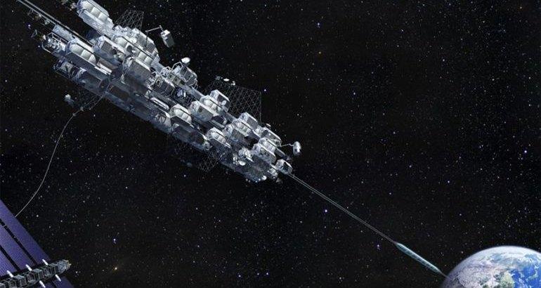Япония испытает концепт космического лифта
