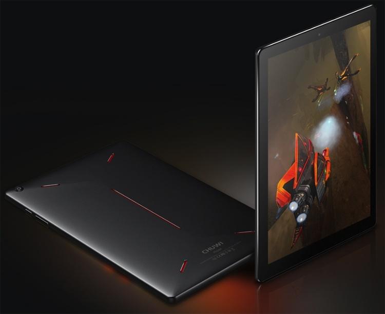 Chuwi Hipad: планшет с 10-ядерным процессором для игр и развлечений