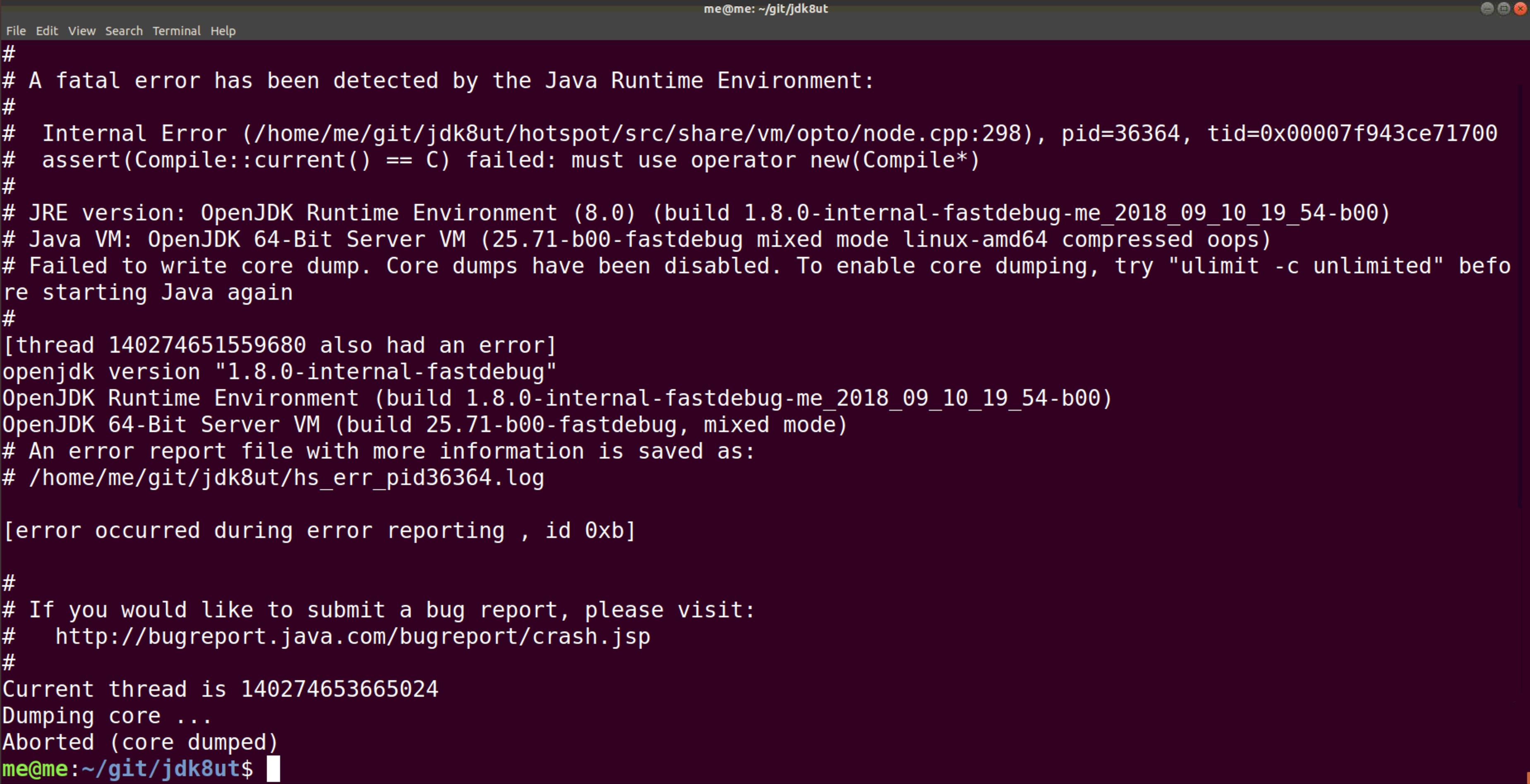О сборке JDK 8 на Ubuntu, качестве кода Hotspot и почему всё валят на C++ - 2