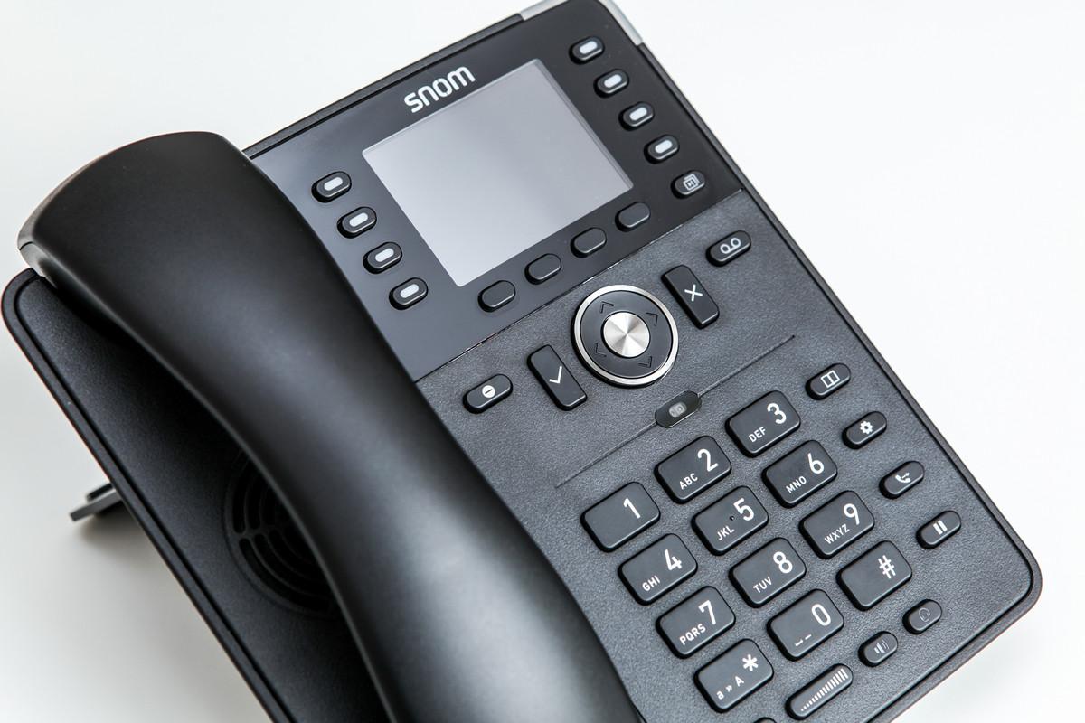 Крепкий середнячок: обзор IP-телефона Snom D735 - 1