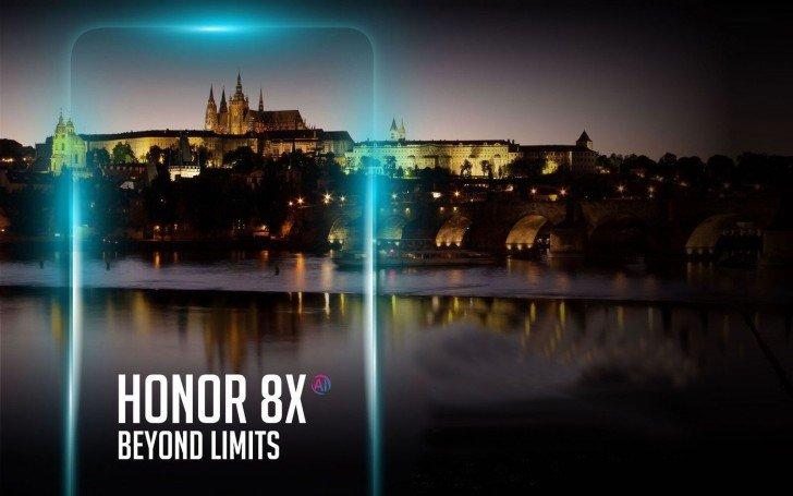 Смартфон Honor 8X выходит за пределы Китая - 1