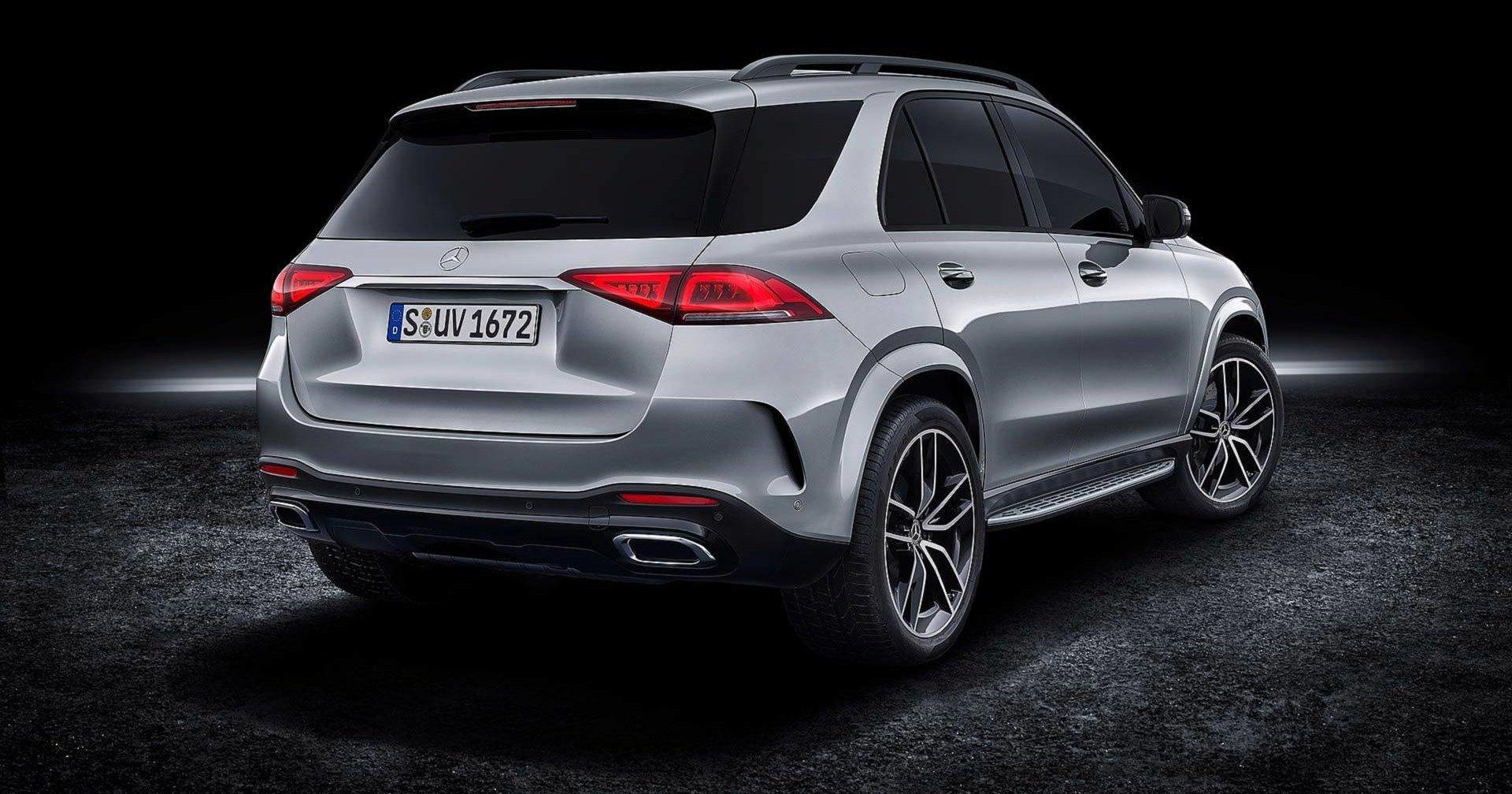 Mercedes-Benz показал новый кроссовер GLE-класса