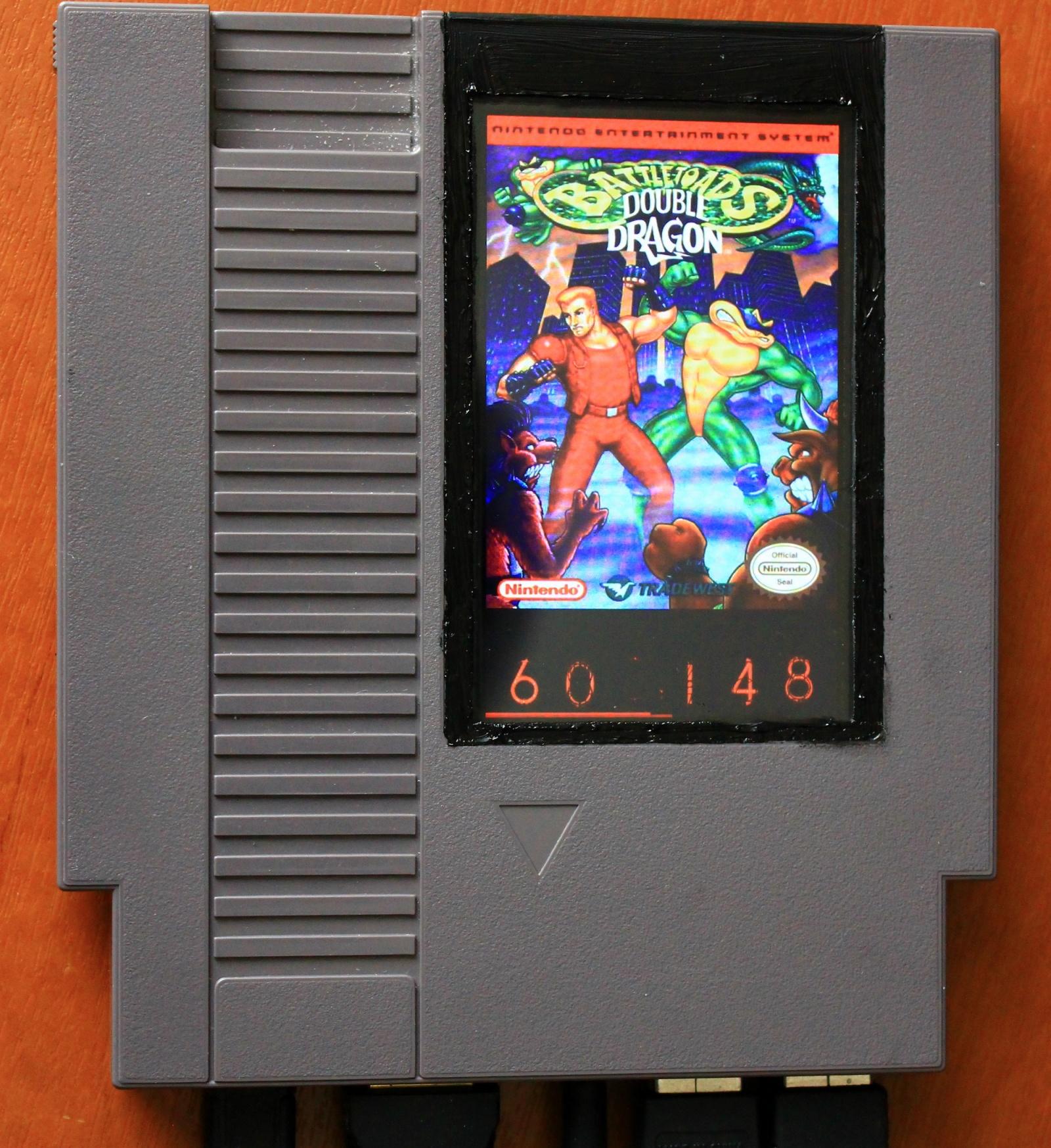 Raspberry Pi в картридже от NES - 1