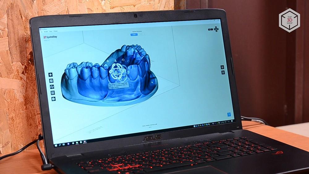 Убийца Form 2? Обзор 3D-принтера MoonRay S100 для стоматологов - 16