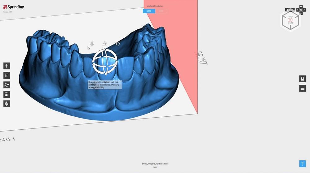Убийца Form 2? Обзор 3D-принтера MoonRay S100 для стоматологов - 17