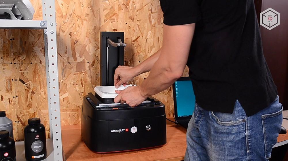 Убийца Form 2? Обзор 3D-принтера MoonRay S100 для стоматологов - 28