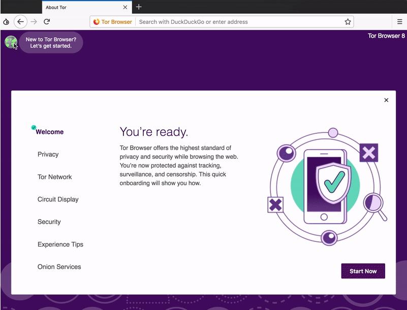 Tor Browser перешел на кодовую базу Firefox Quantum и Photon UI - 1