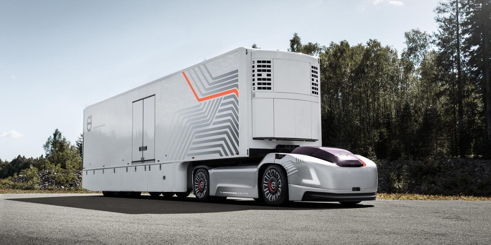 Volvo представила автономный электрогрузовик без кабины - 1