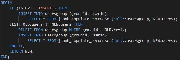 Пример простого версионирования записей PostgreSQL - 7