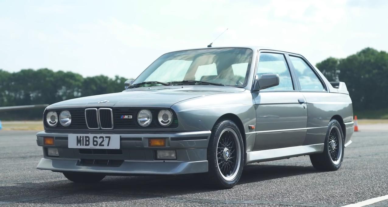 BMW M3 разных поколений сравнили в дрэг-гонке