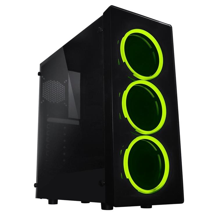 Корпус Raidmax Neon позволяет создать игровой ПК начального уровня
