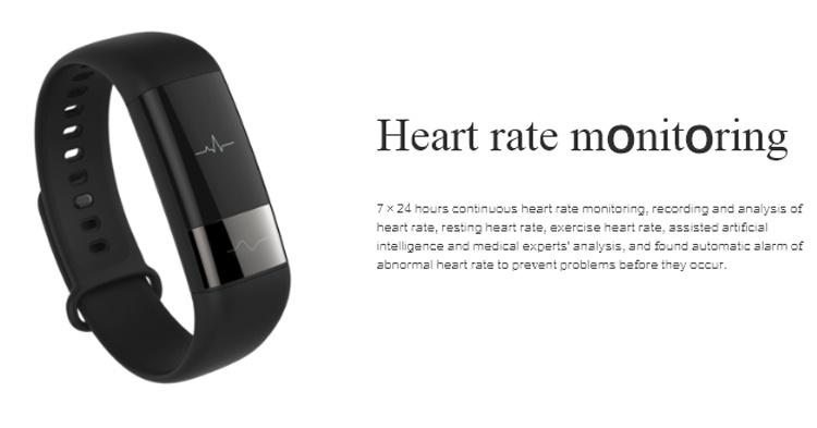 Фитнес-браслет Amazfit Health Band 1S умеет снимать ЭКГ