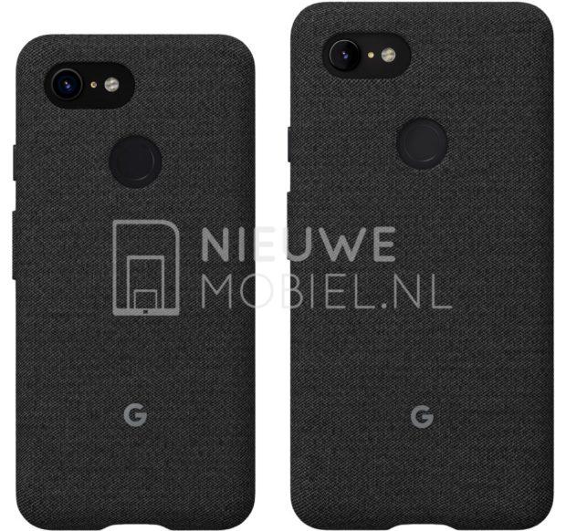 В Сеть попали официальные изображения смартфонов Google Pixel 3 и Pixel 3 XL