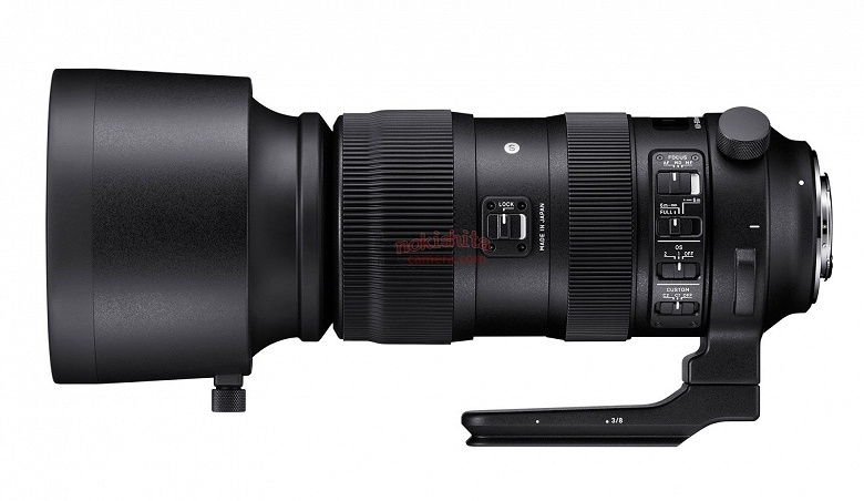 Sigma представит на Photokina объектив, охватывающий диапазон фокусных расстояний 60-600 мм