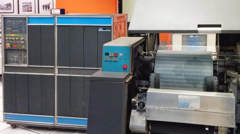 Ремонт принтера от мейнфрейма IBM 1401 эпохи 60-х - 1