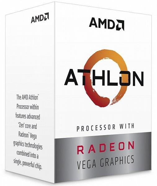 Самый дешёвый современный процессор AMD — Athlon 200GE — поступил в продажу