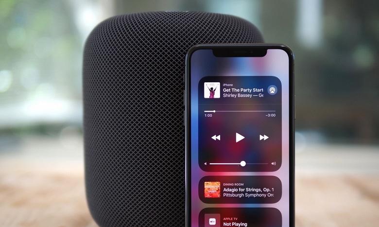 Умная АС Apple HomePod пока не может нарастить долю рынка