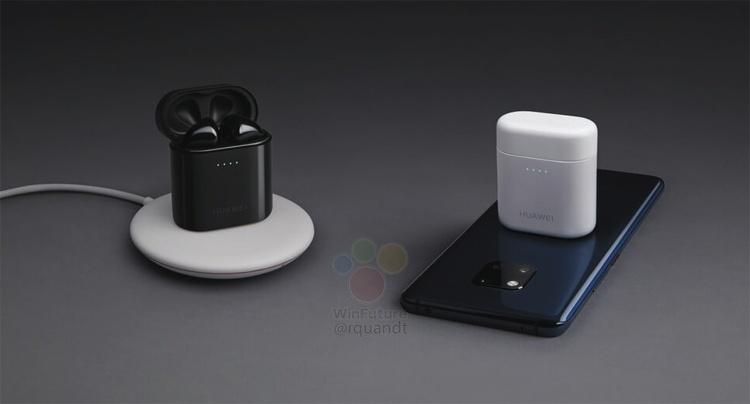 Huawei выпустит наушники в стиле Apple AirPods