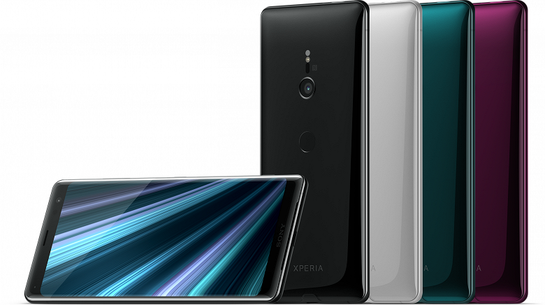 Флагманский смартфон Sony Xperia XZ3 выходит в России