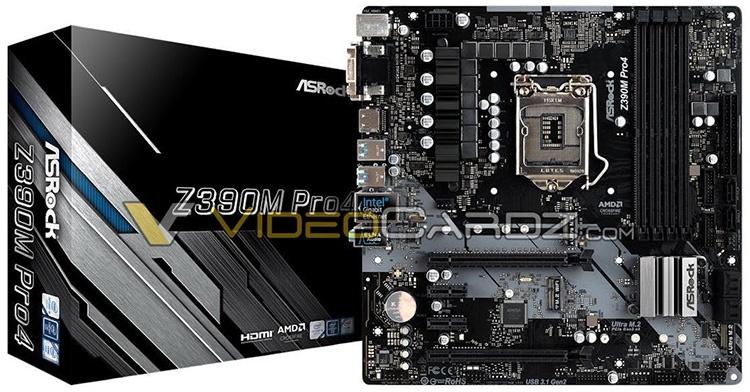 Серия плат ASRock Z390: Taichi, Phantom Gaming, Extreme и другие