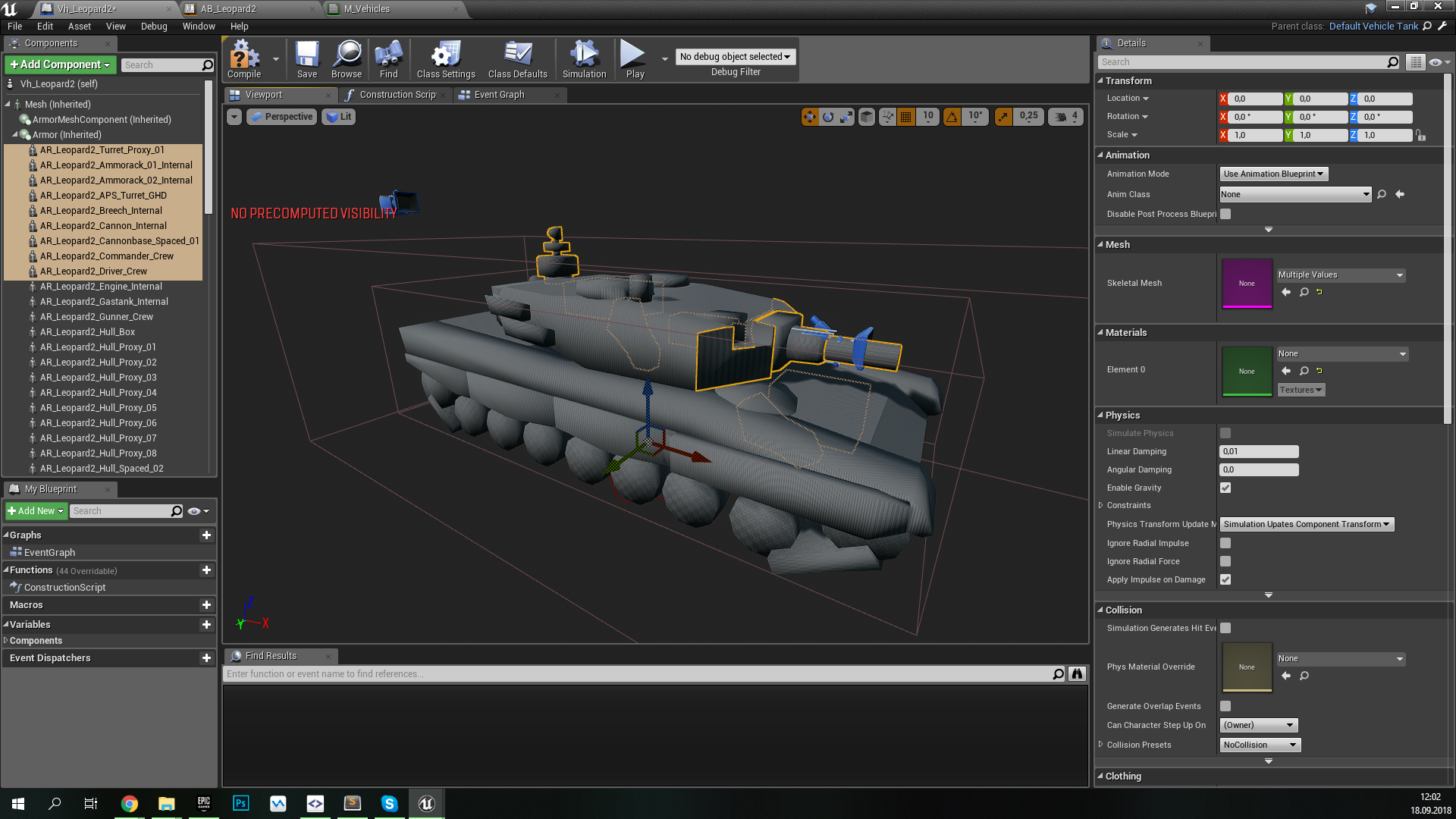 PsRealVehicle, или Open Source-плагин физики танков в Armored Warfare: Assault - 12