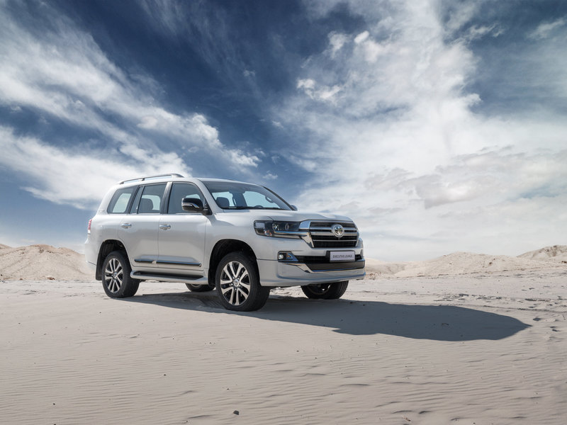 Toyota выпустила спецверсию Land Cruiser
